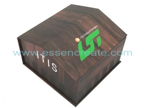 House Shape Christmas Eve Gift Box