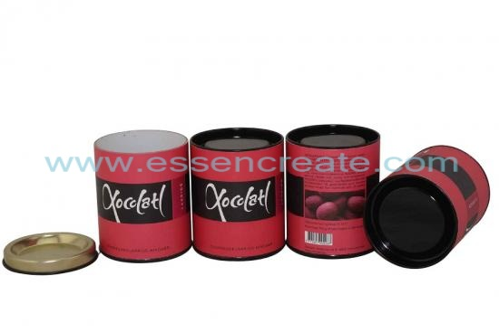 Chocolate Bean Packaging Paper Cans