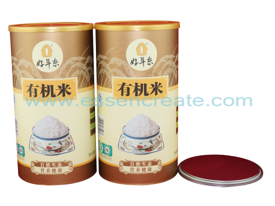 Rice Packaging Paper Cans