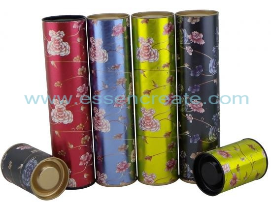 Scented Tea Packaging Paper Tube