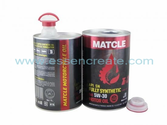 Engine Oil Packaging Cylinder Paper Cans