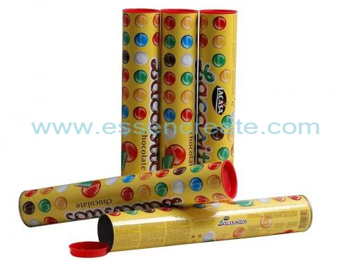 Chocolate Canister Packaging Paper Tube