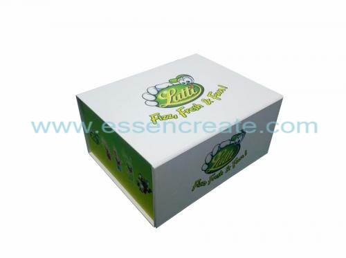 Flat Folding Food Packing Box