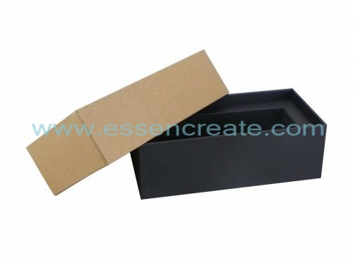 Two Pieces Kraft Packaging Cardboard Gift Box