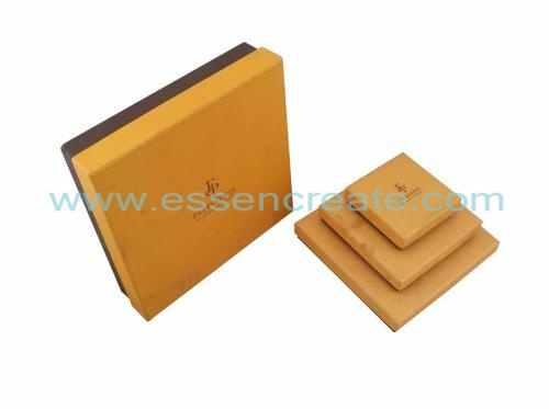 Chocolate Decorative Christmas Gift Boxes
