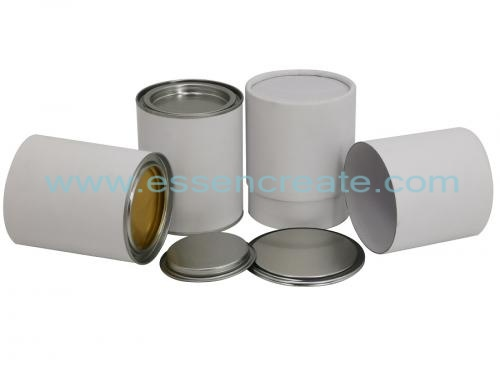 Pry Cover Paper Packaging Cans