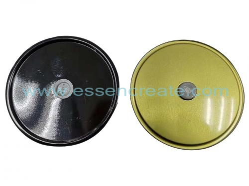 Metal Tinplate Round Lids with One-way Degassing Valve
